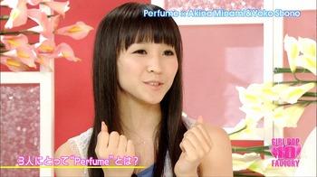 GPF10 Perfumeインタビュー